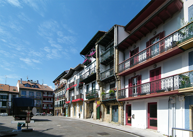 Hondarribia. Casco antiguo