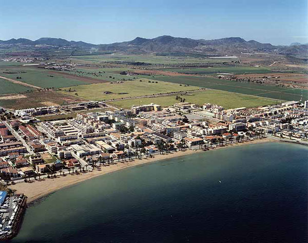 Playa de Islas Menores (Mar Menor - Cartagena)
