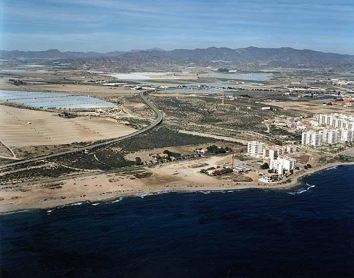 Playa de la cañada del negro (aguilas - murcia)